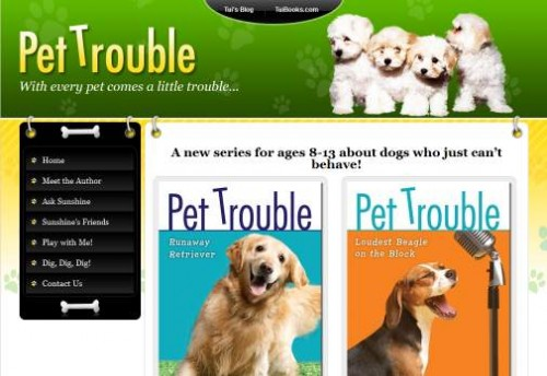 Vist the Pet Trouble website