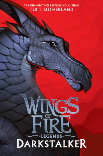 Wings of Fire - Darkstalker front cover